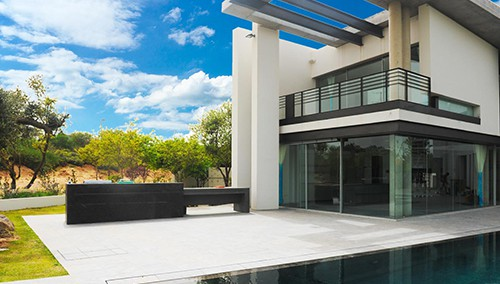 בית גלעד חיים - עיצוב כולל בברזל לבית