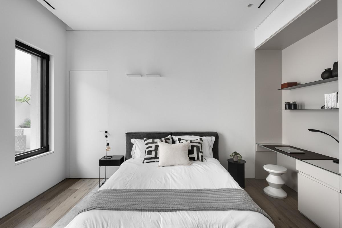 חדר שינה מעוצב